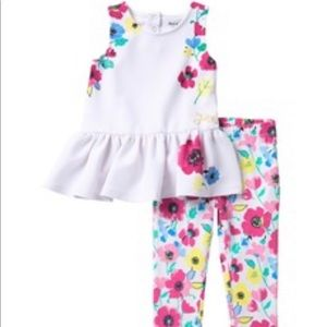 Juicy Couture Floral 2T Outfit